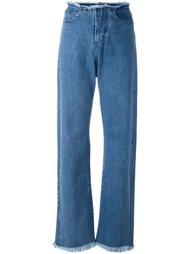 выбеленные джинсы  Marques'almeida
