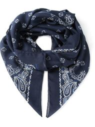 платок с узором пейсли Saint Laurent