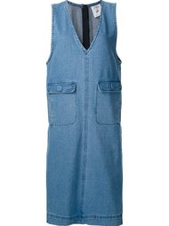 sleeveless denim dress Steve J & Yoni P