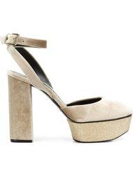 туфли-лодочки на платформе Casadei