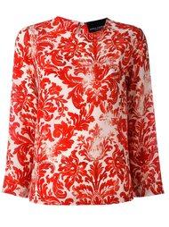 блузка с принтом барокко  Erika Cavallini