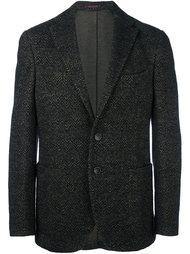 пиджак с узором зигзаг The Gigi