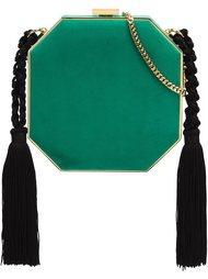сумка на плечо с кисточками Alessandra Rich