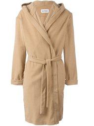 пальто с поясом Sunnei