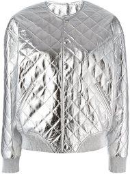 стеганая куртка-бомбер  Saint Laurent