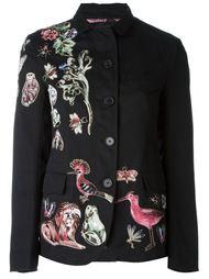 куртка с заплатками в виде животных  Valentino