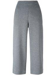 укороченные брюки с эластичным поясом Akris Punto