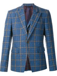 пиджак в клетку с деталью в виде жилетки Vivienne Westwood