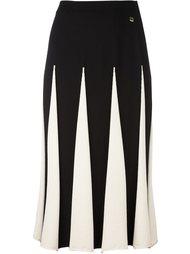 плиссированная юбка миди  Twin-Set