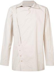 рубашка с асимметричной молнией D-Gnak