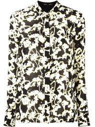 рубашка с абстрактным принтом Proenza Schouler