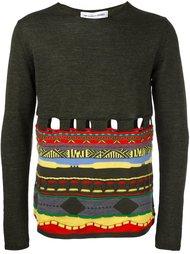 пуловер с вырезными деталями Comme Des Garçons Shirt