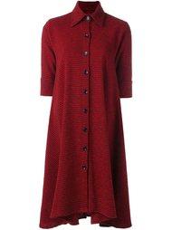 свободное платье-рубашка в клетку Ultràchic