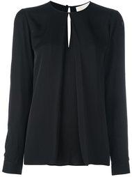 блузка со встречной складкой Michael Michael Kors