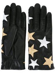 перчатки с принтом звезд Faith Connexion