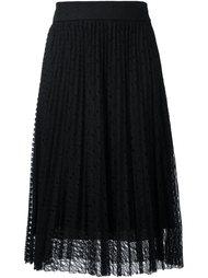 плиссированная кружевная юбка  Philosophy Di Lorenzo Serafini