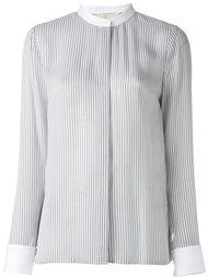полосатая рубашка с воротником-стойкой Michael Michael Kors