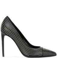 туфли с заклепками Saint Laurent