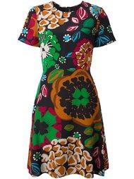 платье с цветочным узором Burberry