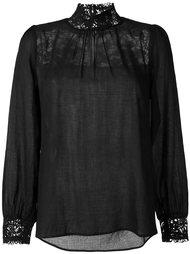 блузка с кружевными вставками  Masscob