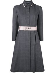 платье-рубашка с поясом  Salvatore Ferragamo