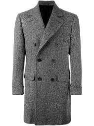 длинное двубортное пальто Kiton