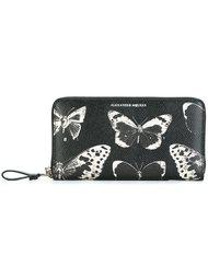 кошелек 'Victorian moth' Alexander McQueen