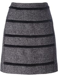 юбка А-образного силуэта в полоску Sonia By Sonia Rykiel