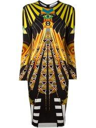 платье с египетским рисунком Givenchy