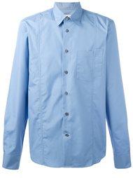 рубашка с асимметричным карманом Marni