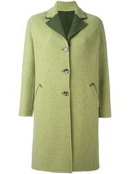 пальто с контрастными лацканами  Etro