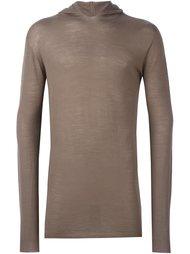свитер с капюшоном  Rick Owens