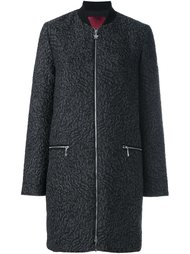 жаккардовое пальто  Moncler Gamme Rouge