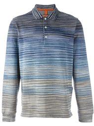 рубашка-поло в полоску  Missoni