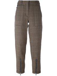 укороченные брюки в ломаную клетку 3.1 Phillip Lim