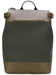 портфель с контрастными панелями Troubadour