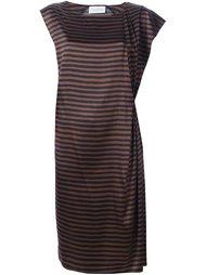полосатое платье 'Davisa'  Christian Wijnants