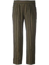 полосатые брюки Masscob