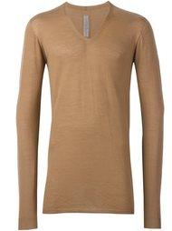свитер c V-образным вырезом   Rick Owens