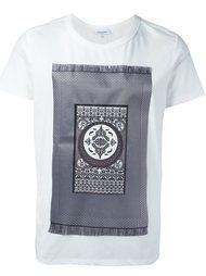 футболка с принтом ковра  Les Benjamins