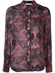 рубашка с принтом пейсли Pierre Balmain