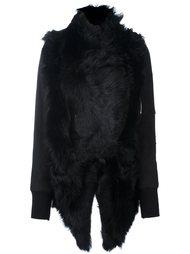 асимметричная текстурированная куртка Giorgio Brato
