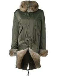 пальто с отделкой из кроличьего меха Faith Connexion