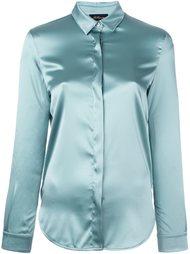 рубашка с потайной застежкой Les Copains