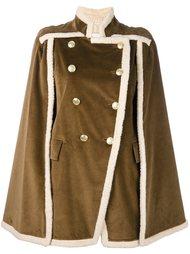 двубортное пальто свободного кроя Pierre Balmain