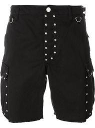 шорты карго с заклепками Saint Laurent