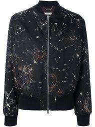 куртка-бомбер с принтом созвездий Givenchy