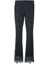 брюки с цветочным кружевом Twin-Set