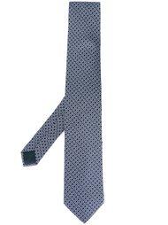галстук с мелким узором Lanvin