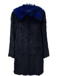 пальто из кроличьего меха Twin-Set